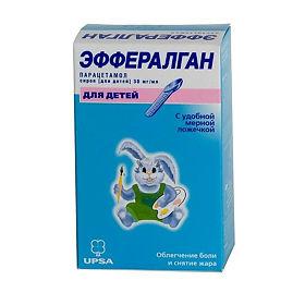 Эффералган 3% 90мл сироп д/детей цена 102 руб. , купить в.