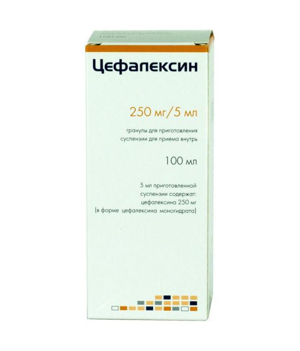цефалексин антибиотик при ангине