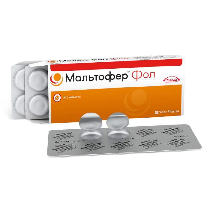 Мальтофер инструкция по применению таблетки