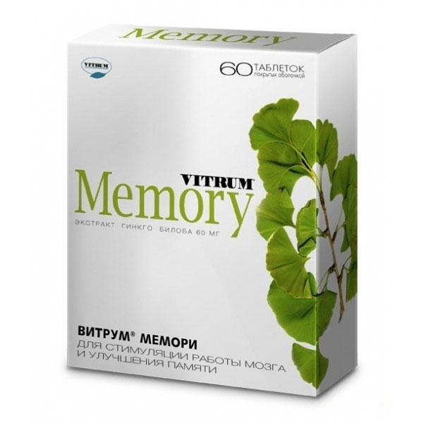 Препарат витрум мемори инструкция по применению и состав.