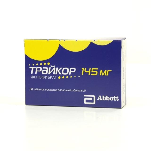 препарат трайкор инструкция