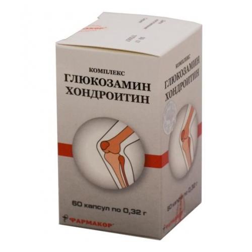 глюкозамин хондроитин комплекс капсулы 320мг шт. 90