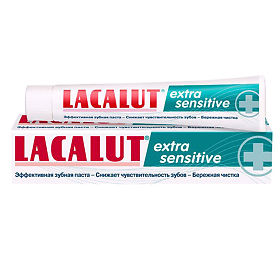 Lacalut Extra Sensitive зубная паста, 50 мл