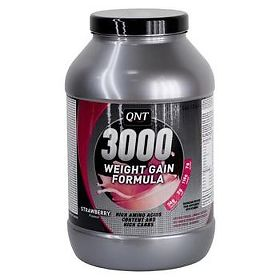 Гейнер классический Weight gain formula 3000, клубника, порошок, 4,5 кг