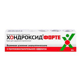 Хондроксид форте крем, 30 г, цена 404 руб. : инструкция, применение.