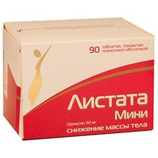 Таблетки для похудения листата мини: состав, показания и.
