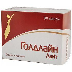 Голд лайт таблетки для похудения инструкция цена