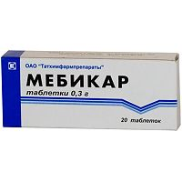 мебикар таблетки инструкция по применению - фото 5