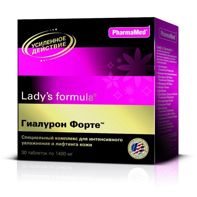 Витамины ледис формула гиалурон форте