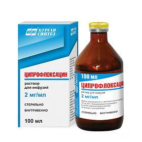Ципрофлоксацин раствор для капельниц
