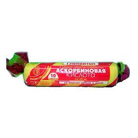 аскорбиновая кислота таблетки дыня шт. 10 крутка