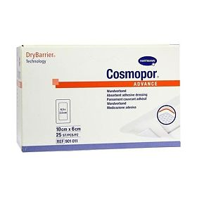 Повязка Cosmopor Advance/Космопор Эдванс 10 х 6 см, 25 шт.