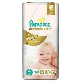 Подгузники Памперс (Pampers) Премиум Кейр макси (4) 7-14 кг, джамбо ... 7a27e50b25f