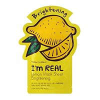 Купить Тканевая маска Tony Moly с экстрактом лимона Im real lemon mask sheet, 21мл цена