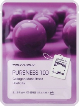 Тканевая маска Tony Moly с экстрактом коллагена Pureness 100 collagen mask sheet, 21мл