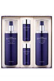 Набор Missha для лица Time Revolution Night Repair Set № 1 (4 предмета), 1 шт.