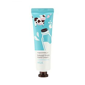 Крем для рук Tony Moly Natural green hand cream milk, упак.