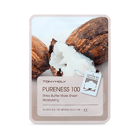Тканевая маска Tony Moly с экстрактом масла ши Pureness 100 shea butter mask sheet 21мл, упак.