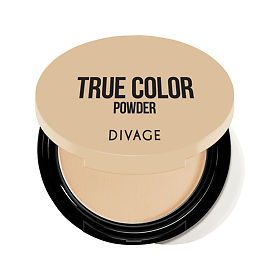 Пудра Divage компактная Compact Powder True Color № 01, упак.