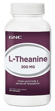 ДжиЭнСи (GNC) L-Тианин 200 мг (L-Theanine 200mg) таблетки 60 шт., упак.