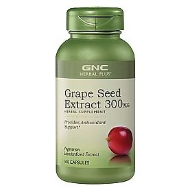 ДжиЭнСи (GNC) Экстракт виноградных косточек 300 мг (Grape Seed Extract 300) капсулы 100 шт., упак.