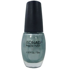 Лак для ногтей Konad Regular Nail R6 Shining Silver 10мл, упак.