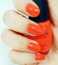 Лак для ногтей Konad Regular Nail R66 Psyche Orange 10мл, упак.