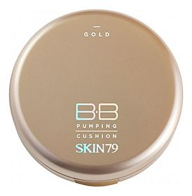Компактный ББ кушон SKIN79 GOLD BB PUMPING CUSHION тон 21, 1 шт