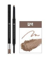 Карандаш для бровей Missha The Style Pencil & Powder Dual Eye Brow (Brown) 20мл, упак.