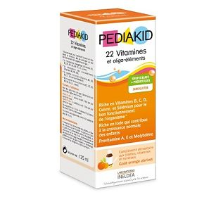 Педиакид (Pediakid) Витамина и Олиго элементы (Vitamines&oligo-elements) 125 мл, упак.