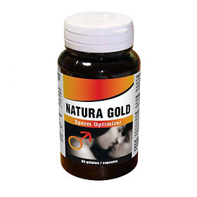 Сексуал Натура Голд Сперм Оптимайзер (Natura Gold Sperm Optimizer) капсулы 60 шт., упак.