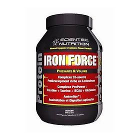 ЭсТиСи (STC) Протеин Айрон Форс Ваниль (Iron Force Protein VANILLE) 900 г, упак.