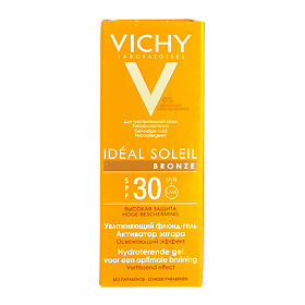 Vichy Capital Ideal Soleil флюид-гель активатор загара для лица SPF30, 50 мл