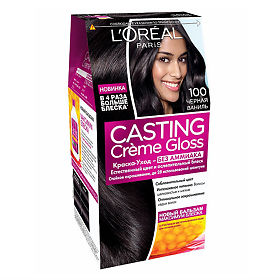 Черная ваниль краска для волос