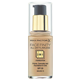 Max Factor Facefinity All Day Flawless 3-in-1 тональная основа 75 тон golden, 30 мл