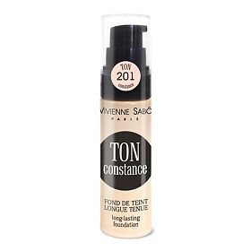 Тональный крем Vivienne Sabo устойчивый Long Lasting Foundation Fond de teint longue tenue Ton Constance тон shade 201, 25мл