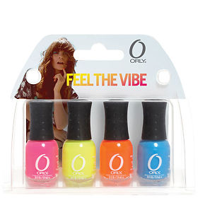 Сумочка Orly Mani Mini Kits Feel The Vibe 5,3мл 4 шт., упак.