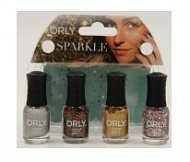 Сумочка Orly Mani Mini Kits Sparkle 5,3мл 4 шт., упак.