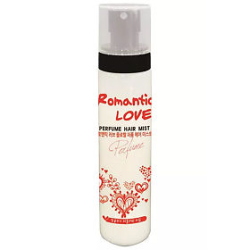 Спрей для волос Bosnic парфюмированный romantic love floral perfum hair mist, упак.
