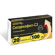 Купить Силденафил-СЗ, таблетки покрыт.плен.об. 000 мг, 00 шт. цена