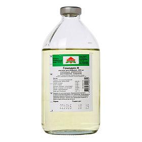 Гемодез-н 400мл раствор для инъекций купить в москве: цена.