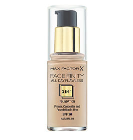 Max Factor Facefinity All Day Flawless 3-in-1 тональная основа 50 тон soft honey, 30 мл