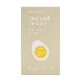 Пластырь для носа Tony Moly Egg pore nose pack, 1 шт.