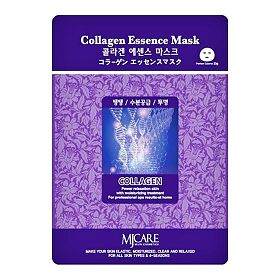 Mijin Essence Collagen Mask маска тканевая коллаген, 23 г