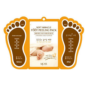 Mijin пилинг для ног Foot peeling pack, 15 мл 2 шт.