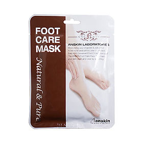 Anskin маска для ног Natural Pure Foot Care Mask, 18 г