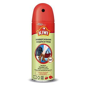 7b8754bfe Kiwi Средство по уходу за изделиями из кожи, замши и текстиля аэрозольное  Универсальная защита и уход, 200 мл - купить, цена и отзывы, Kiwi Средство  по ...