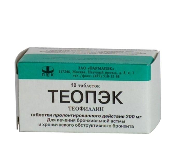 теопэк 300 мг инструкция по применению - фото 6