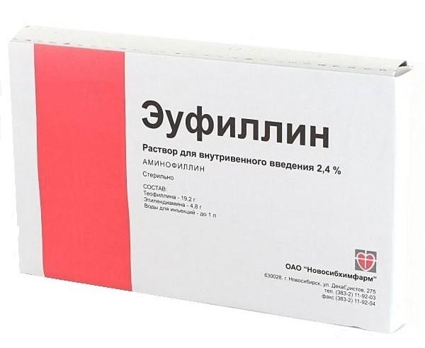 эуфиллин официальная инструкция